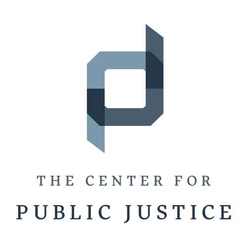 Logo for Center for Public Justice concerning ethics